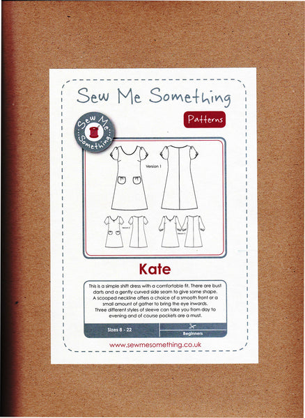 Sew Me Something Kate Dress Pattern