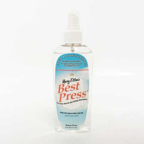 Best Press Ironing spray 6oz scent free ME60034