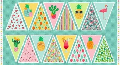 Makower Fruity Friends Bunting 1949