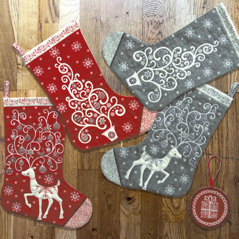 Christmas Stockings Workshop - with Luu Eliza