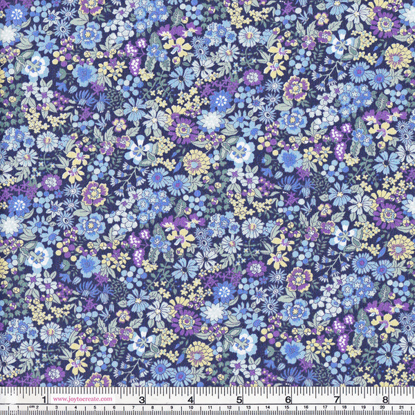 Sevenberry 611/8D24 Floral On Blue