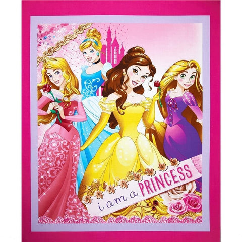 Disney I am a Princess Panel - CP52965