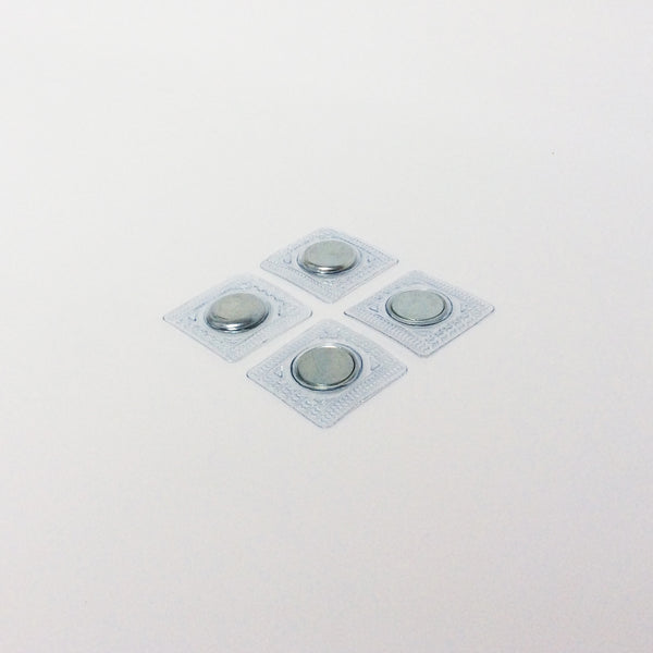 Sew in magnet with PVC 18mm (2pairs/4magnets) SSND18X2MM