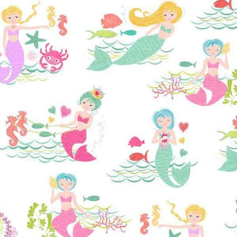 Makower Mermaids 2001/1