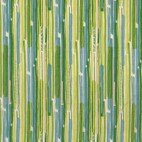 CHRISTMAS Makower Modern 1141/G Stripe Green