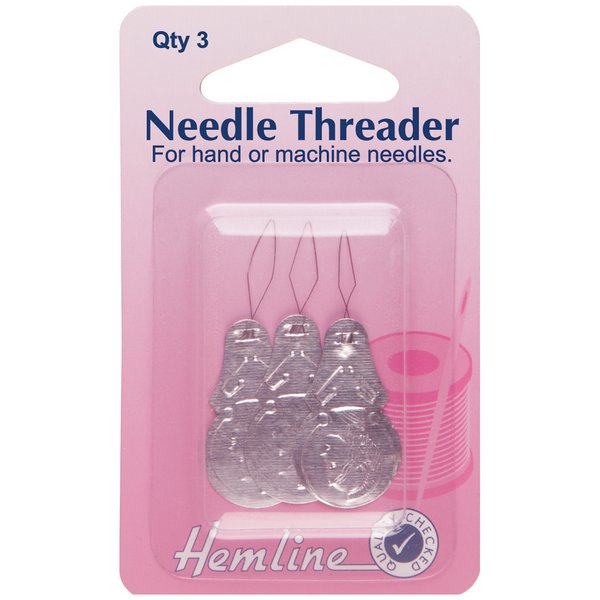 Hemline Needle Threader 3 pack H232