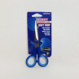 "Soft Grip Small Scissors 14cm/5.5"" blue/orange/purple B4714"