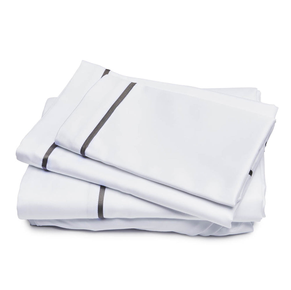 550 Lux Sateen Sheet Set - Grey