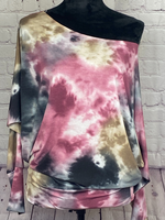 Dream On Tie Dye Top