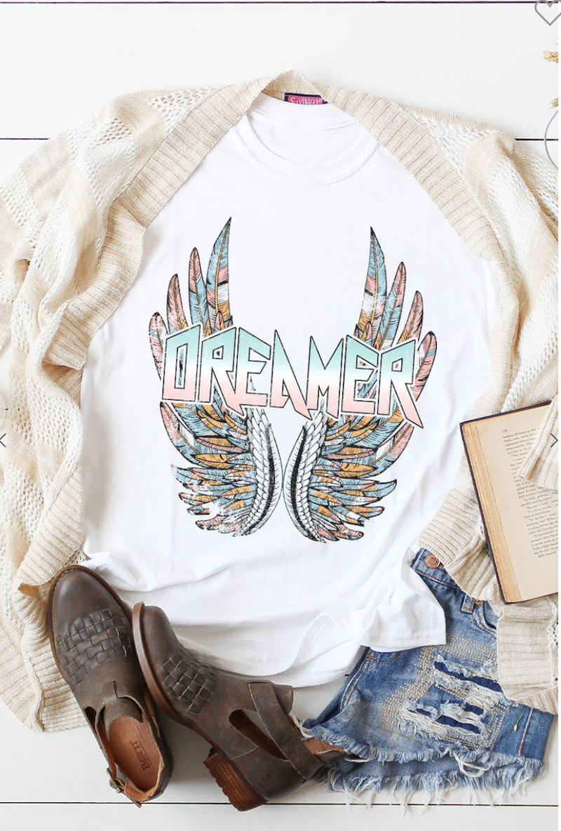 Dreamer With Wings T-shirt