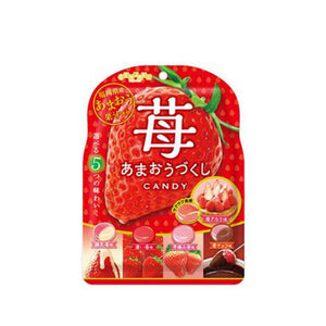 Senjaku - Assorted Amaou Strawberry Flavour Candy
