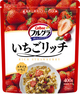 Calbee - Frugra Rich Strawberry