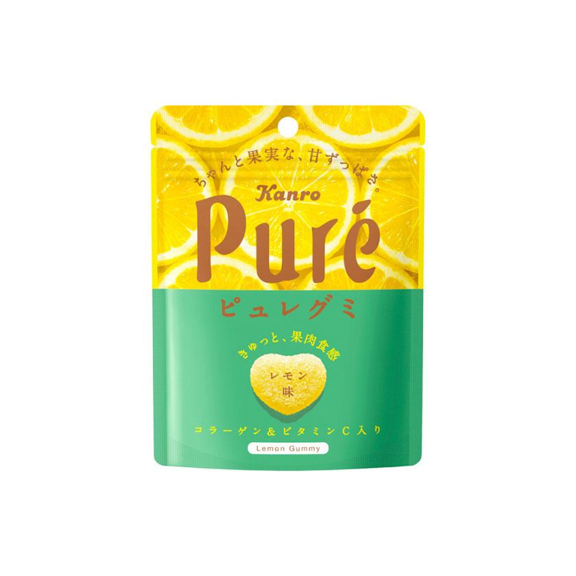 Kanro- Pure Lemon Gummy Hearts