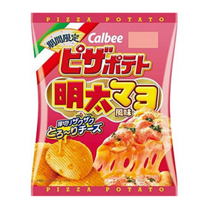 Calbee - Pizza Potato Mentaiko Mayo Flavour