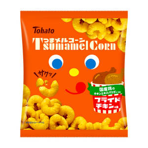 Tohato - Tsumamel Corn Fried Chicken Flavour