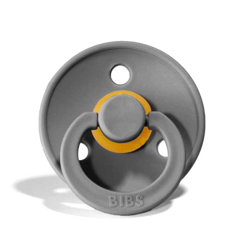 Smoke grey Bibs Pacifier
