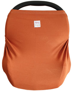 Henna fitted infant car seat cover