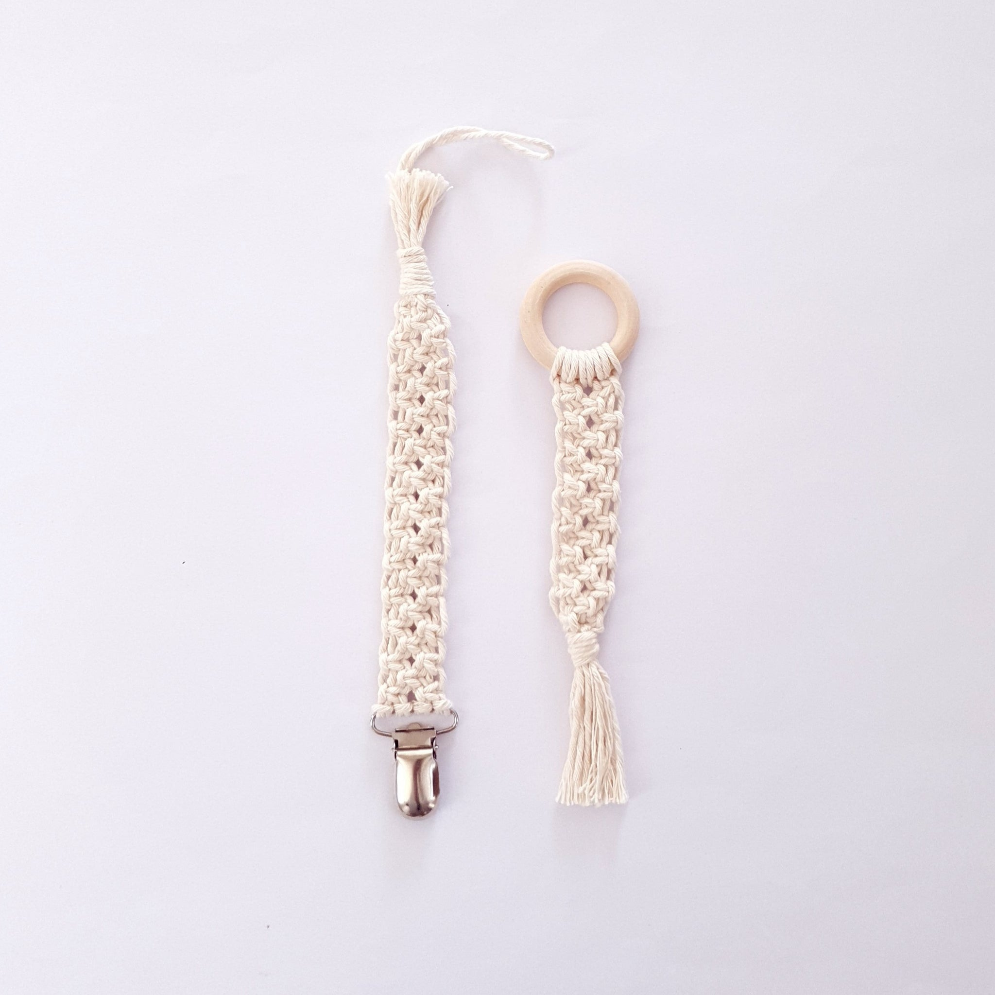Macrame set - Natural