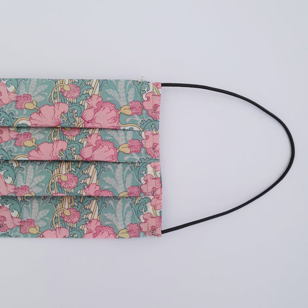 Printed Fabric Face Mask - Greens