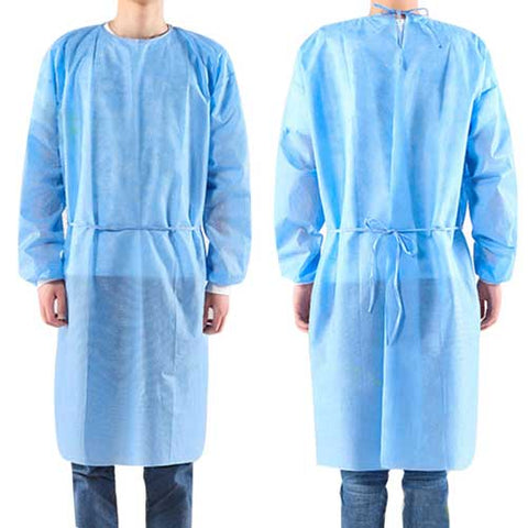 Disposable Laminated Isolation Gown 50pc  (ISOG)