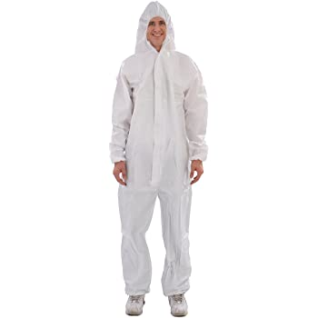 Industrial Polypropylene Coveralls 50pcs (INCVA)