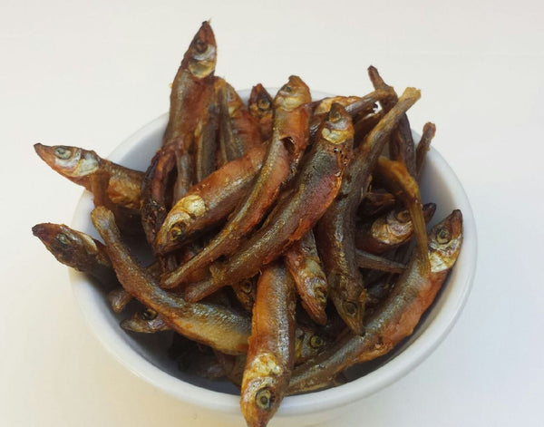 Dried Whitebait- for your cat