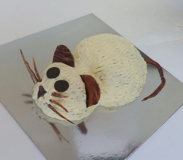 Cat Birthday Cake: Mouse