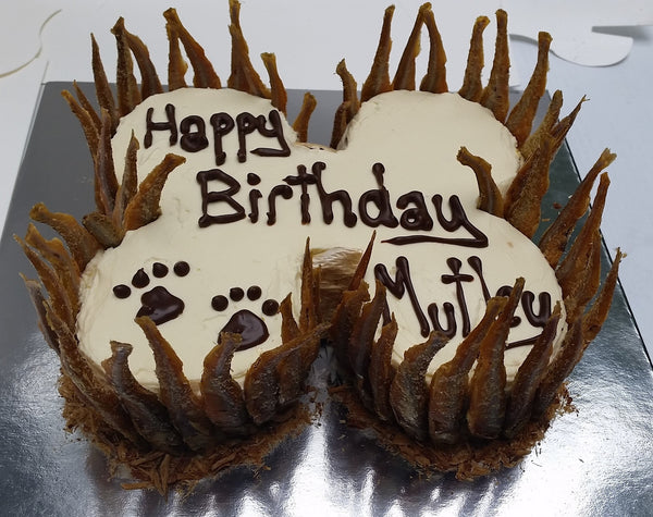 Custom-made Dog and Cat Birthday Cakes