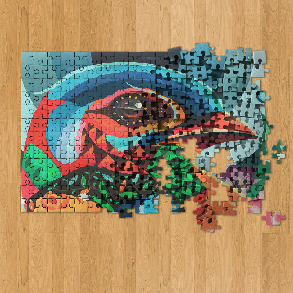 The Bird 1000 Piece Jigsaw Puzzle for Adults & Teens - 27.5 x 20 Inch