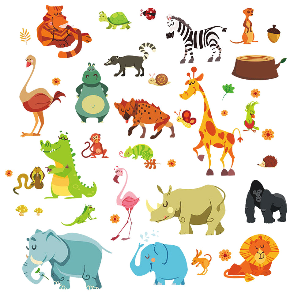 Nursey Animal Decals