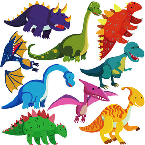 Dinosaur Wall Decals for Baby Nursery Decor