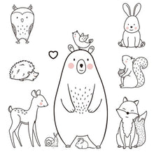 Load image into Gallery viewer, Bear & Animal Wall Sticker