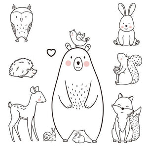 Bear & Animal Wall Sticker