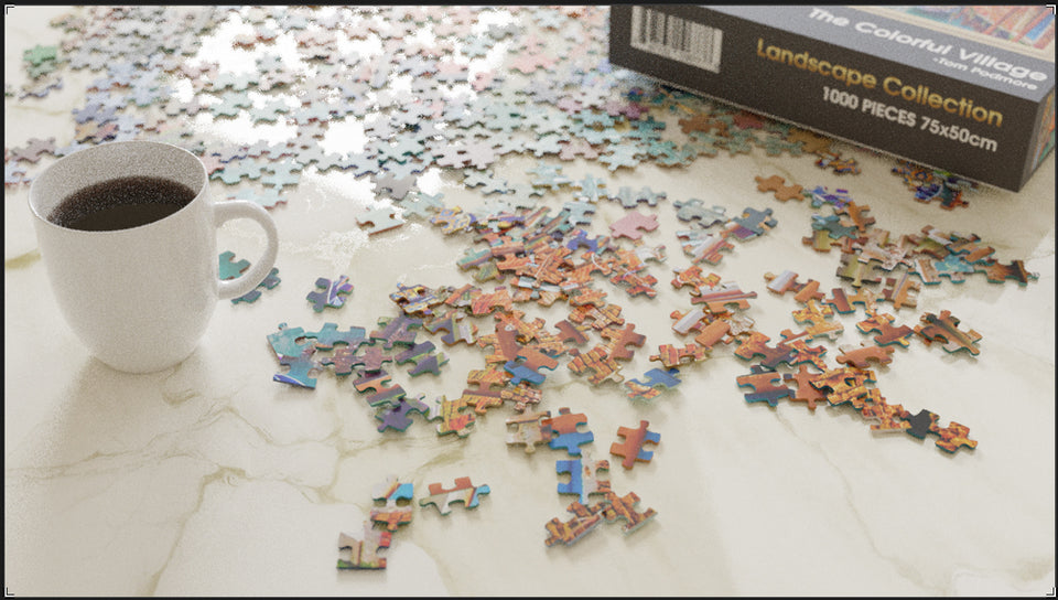 Virtuoso Series 1000 Piece Jigsaw Puzzle for Adults & Teens - 27.5 x 20 Inch