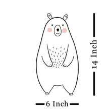 Load image into Gallery viewer, Large Size Bear & Other Animal Wall Stickers for Baby Nursery