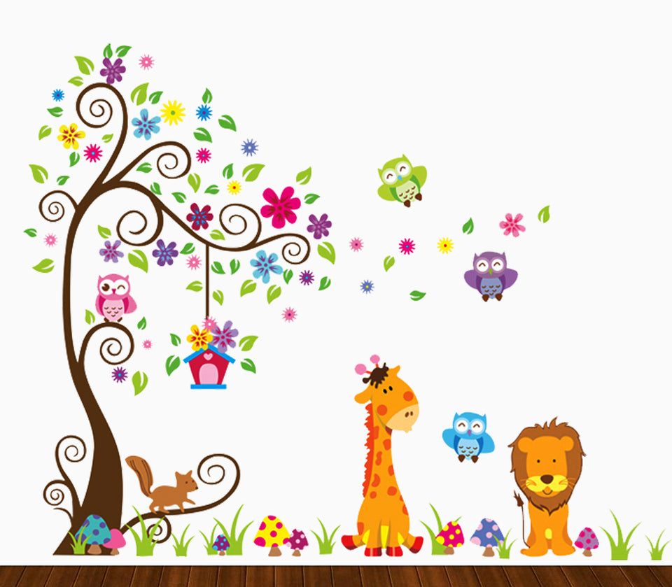 Jungle Wall Decal