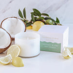 Coconut & Lime Soy Candle