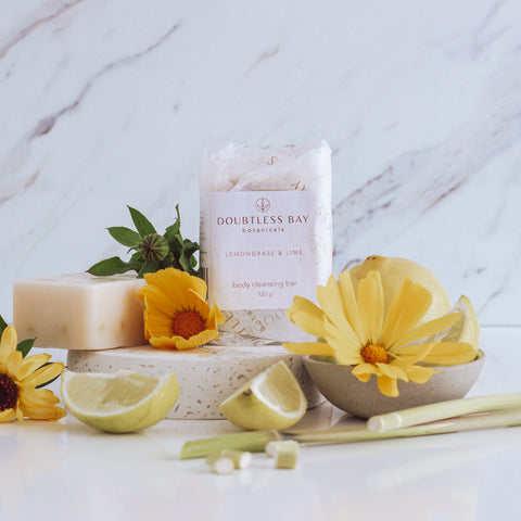 Lime & Lemongrass Body Cleansing Bar