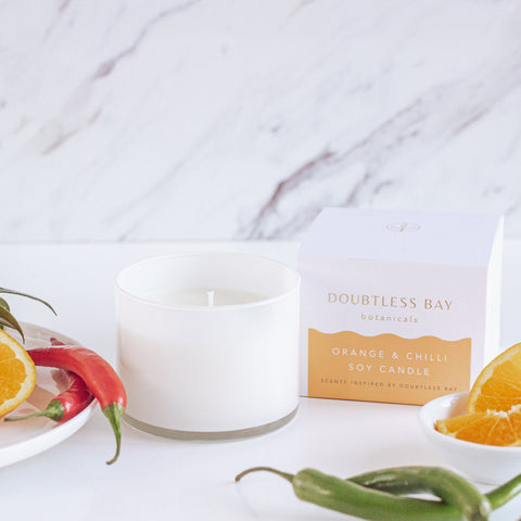 Orange & Chili Soy Candle