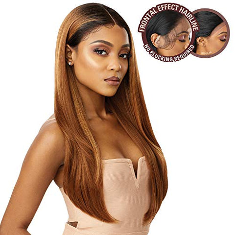 Premium Swiss Lace Front Wig Melted Hairline