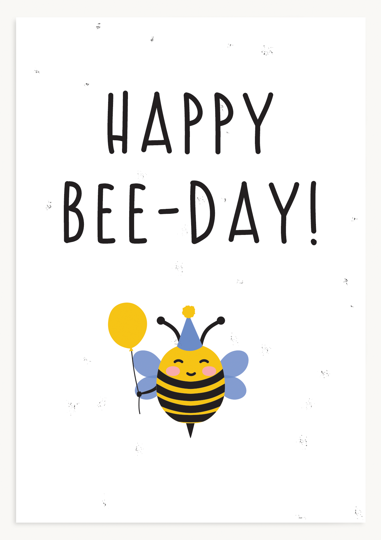 Happy beeday!