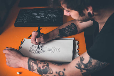 tattoo design from the artist