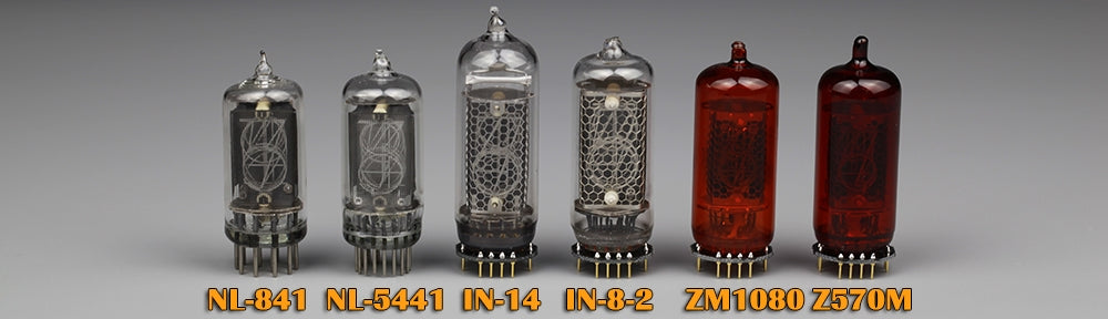 Omnixie clock supported nixie tubes