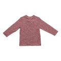 Boy's Burgundy Striped Long Sleeve