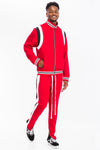 Red Athletic Wear Set