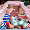 Glow in the Dark Blanket & Pillow Set-Pink