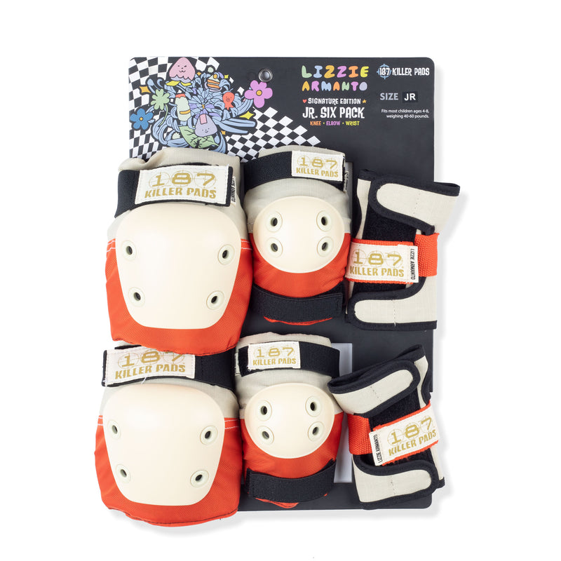 187 Killer Pads Junior Six Pack - Lizzie Armanto Product Photo
