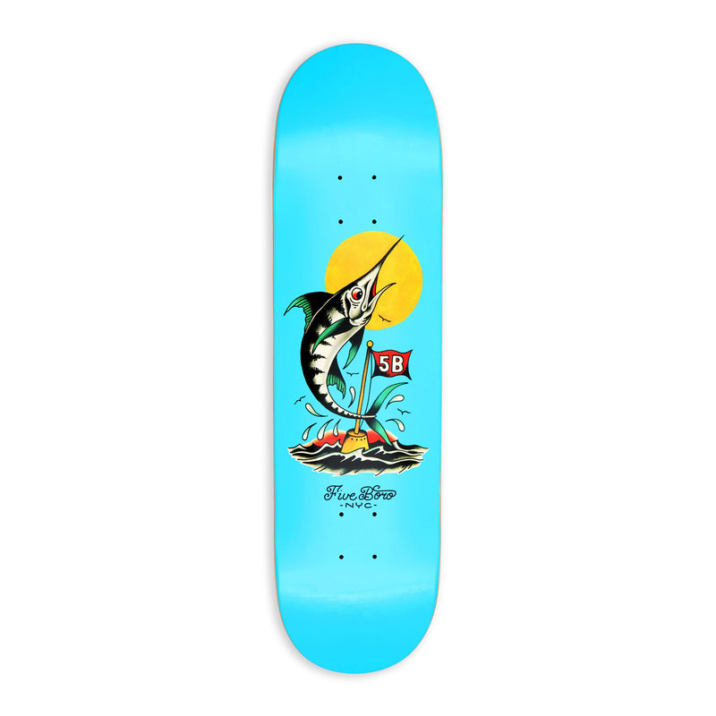 5 Boro Fish Series Marlin Deck Product Photo