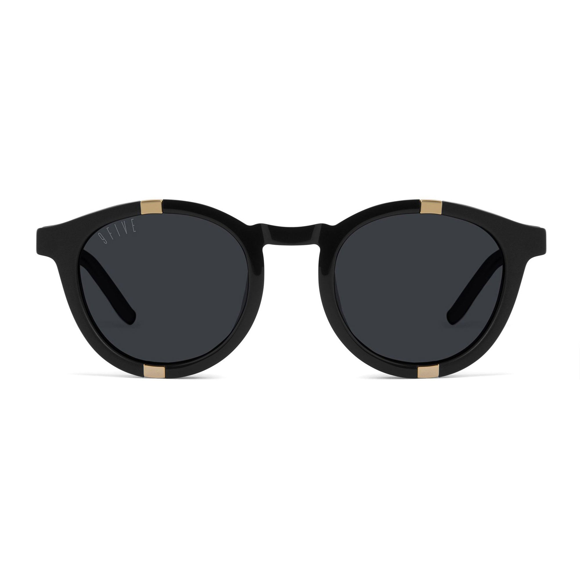 9 Five Grove Sunglasses - Black/Gold Product Photo #2