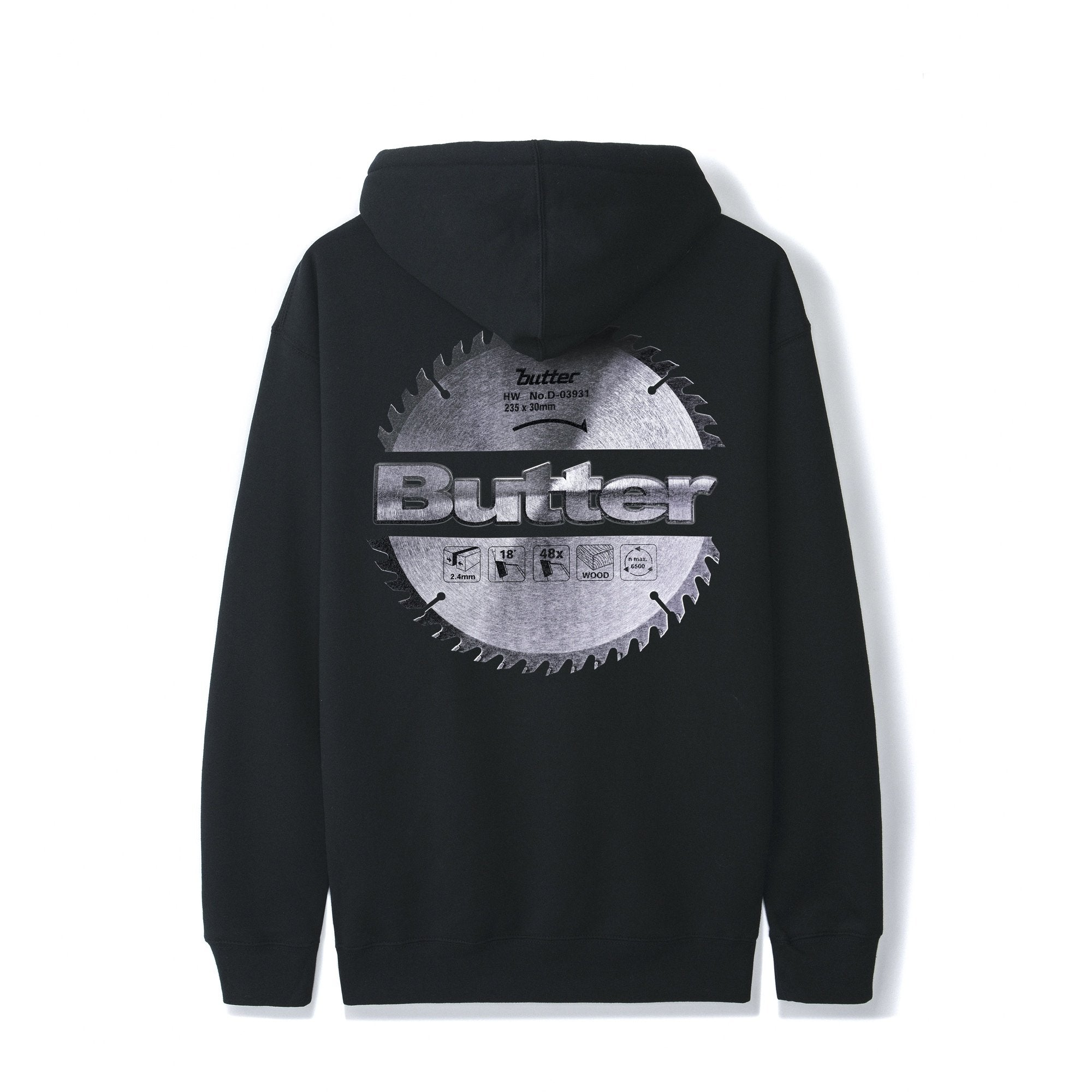 Butter Goods Blade Logo Hoodie Product Photo #2